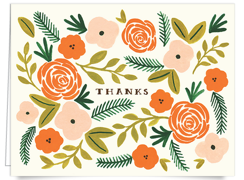 floral_Rifle_thank_you_card