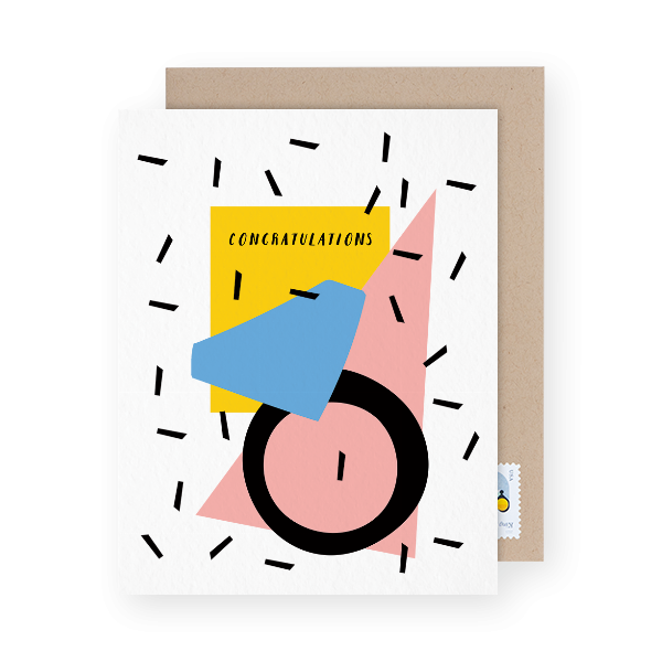 geometric-congratulations-card