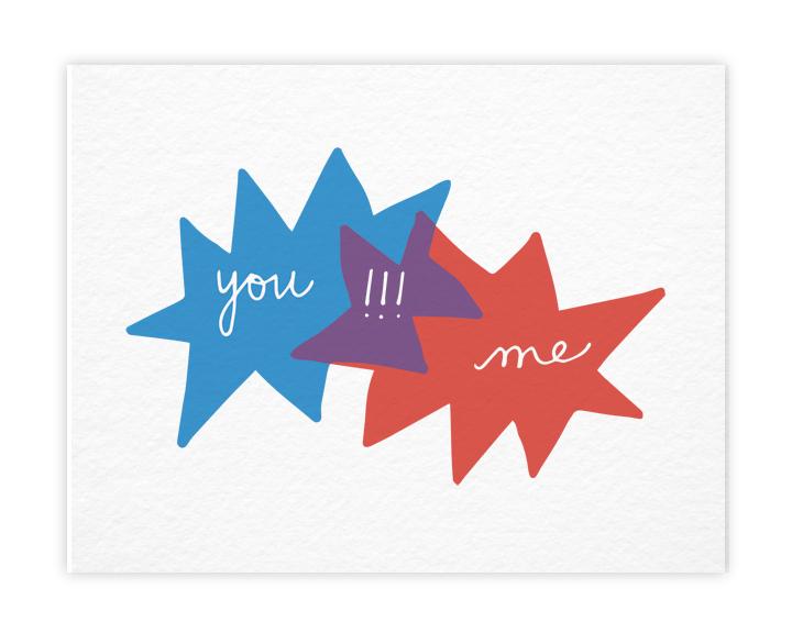 you !!! me