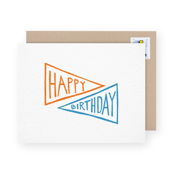 Iron Curtain Press Birthday Card