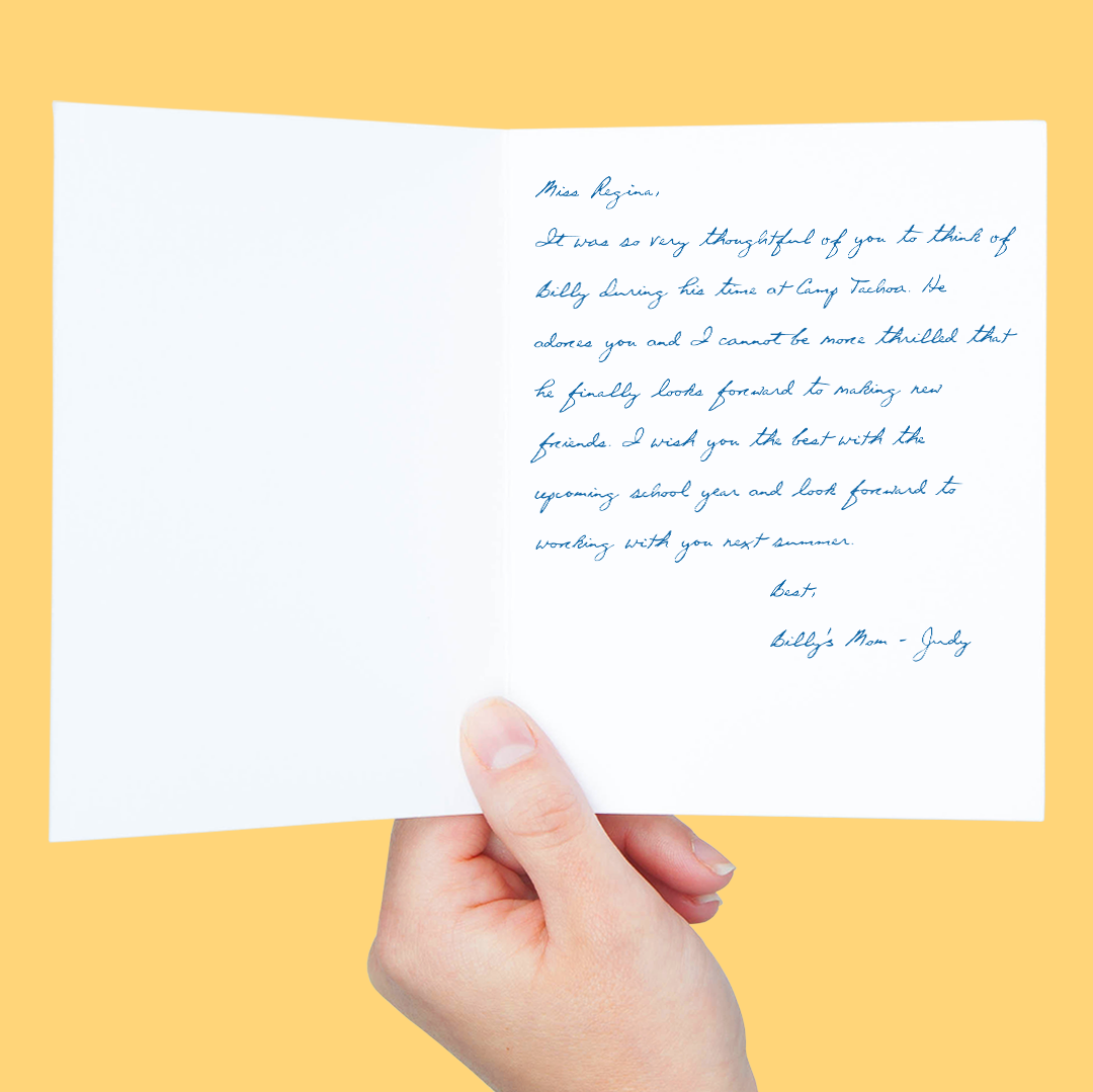 55 Ways to Sign f A Greeting Card