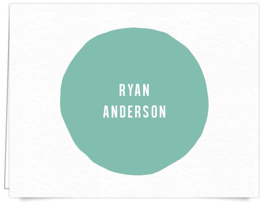 turquoise_circle_custom_stationery