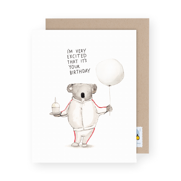 Punny Greeting Card Sorry I/'m Late Snail