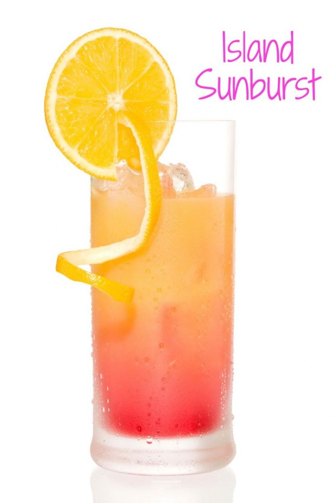 Island Sunburt Cocktail