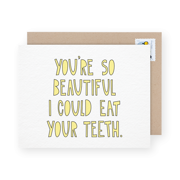 funny love you card