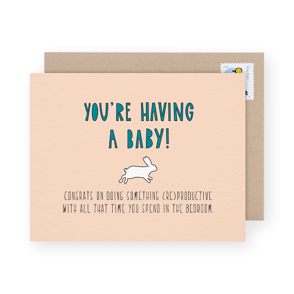 congratulations on pregnancy card