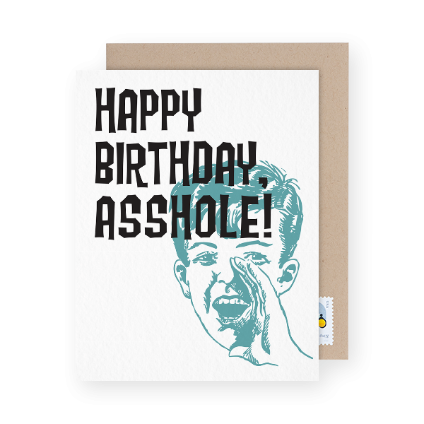 funny bday greeting card
