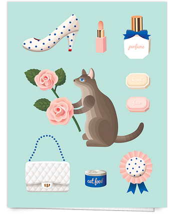 Feminine Everyday Card
