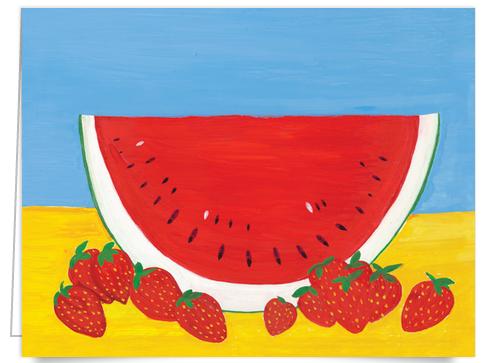 watermelon stationery