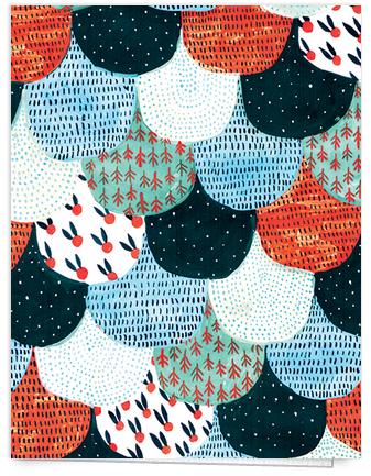 Pattern Quilt Art Card