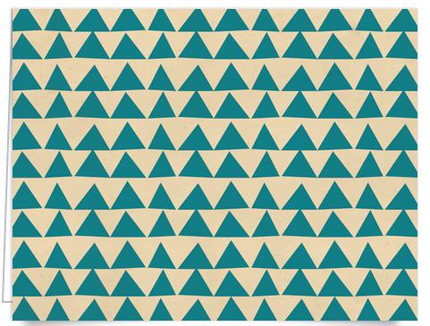 organic triangle stationery
