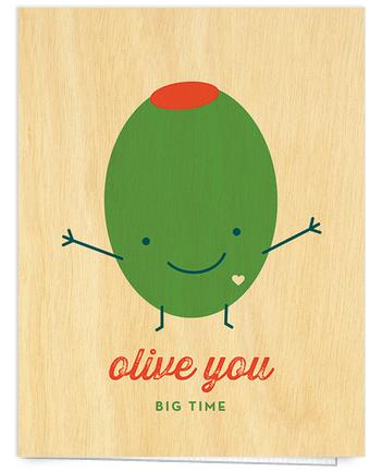 adorable pun love card