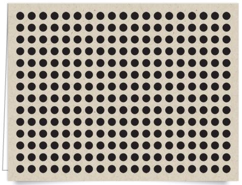 polka dot pattern stationery