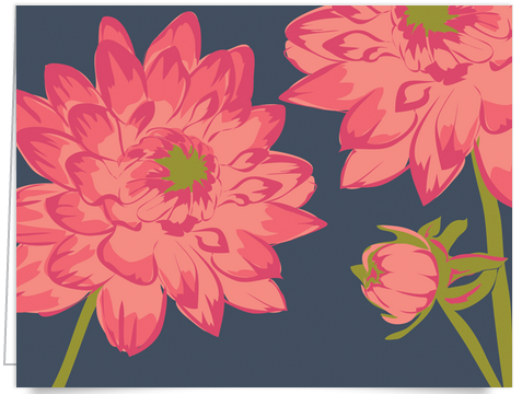 Pink floral Stationery