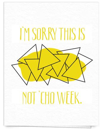 Funny I'm Sorry Card