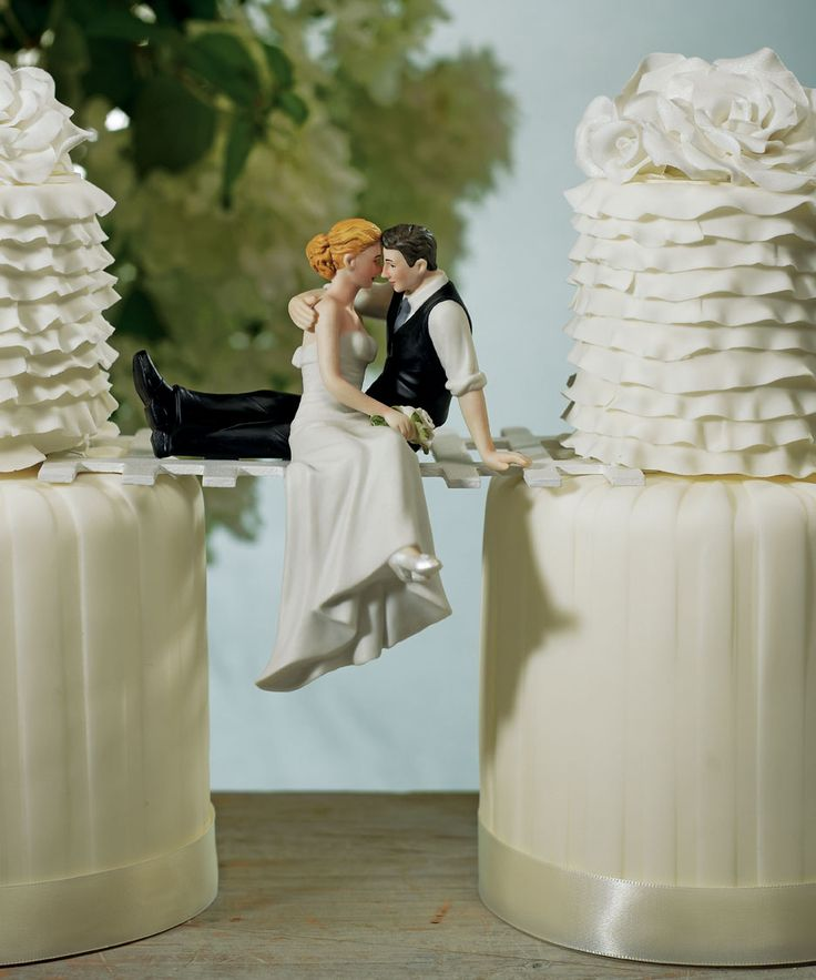 22 awesome quirky unusual wedding cake toppers weddingstar weddingstar who says a wedding cake topper junglespirit Image collections