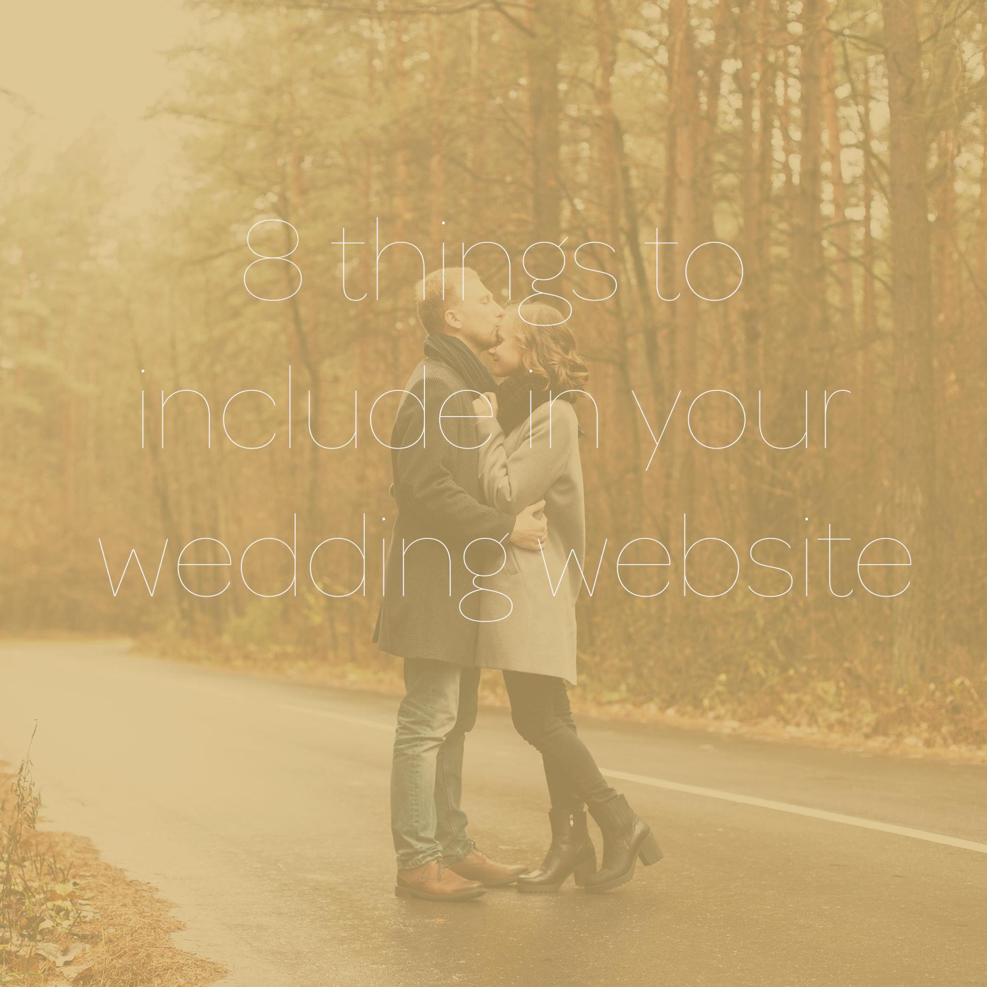Weddingwebsite