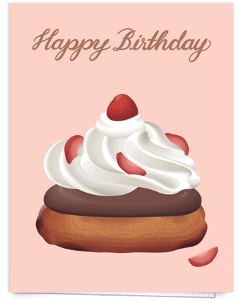 dessert-pink-birthday-card