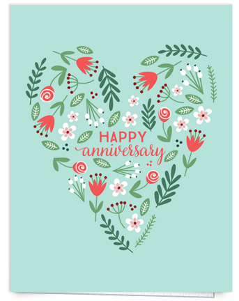 floral-heart-anniversary-card