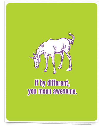 Quirky-unicorn-friend-card