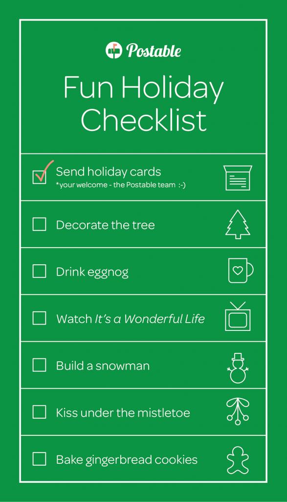 HolidayChecklist