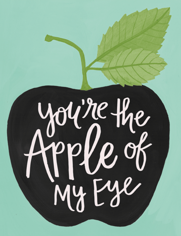 hand-painted-apple-of-my-eye-card