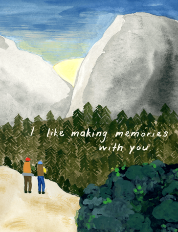 lovely-painted-hiking-love-card
