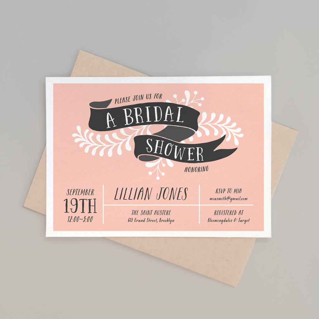 pink-banner-bridal-shower-invite