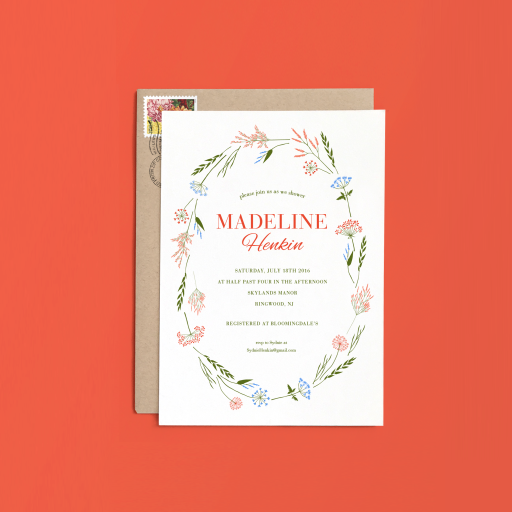 10 Gorgeous Bridal Shower Invitations That Will Make You Swoon -