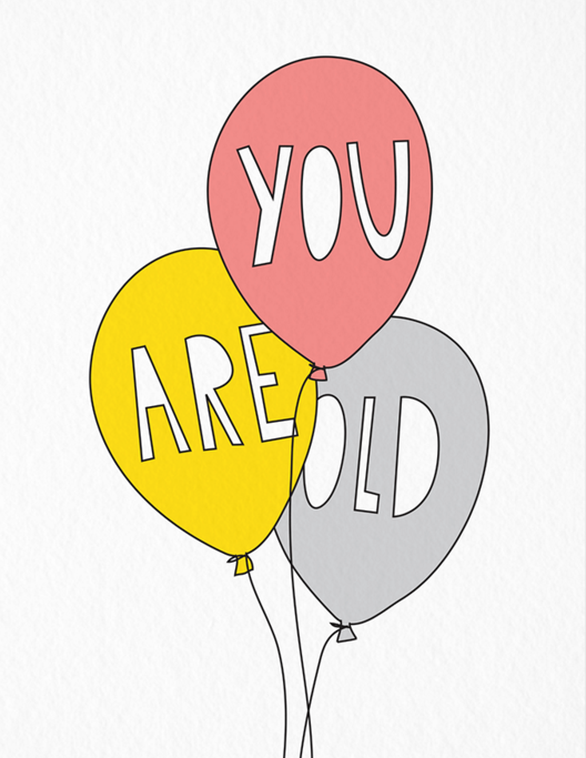 youareold