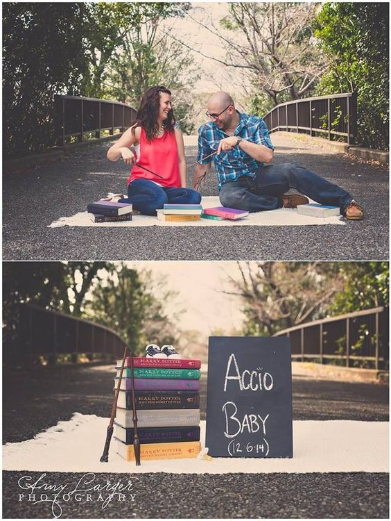 6c252d4234682 Pregnancy announcement for the Potter fans! 7418fb3556d30acfdb2a98c28a37f16f