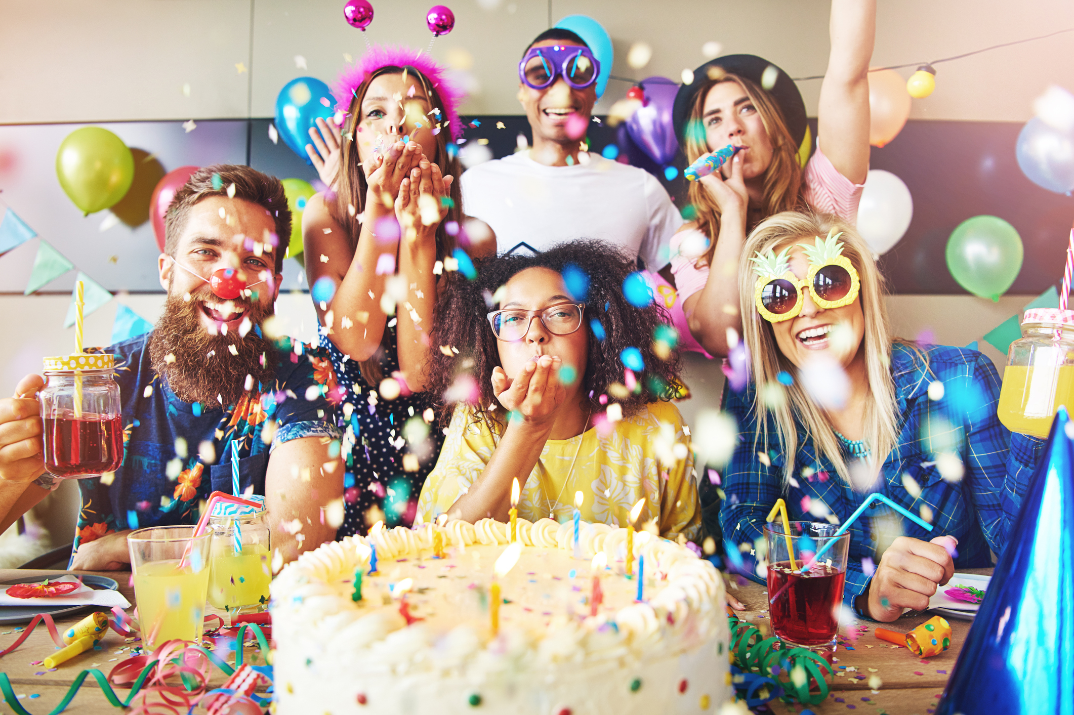Birthday Fun For Adults : Snazzy grown up adult birthday party ideas