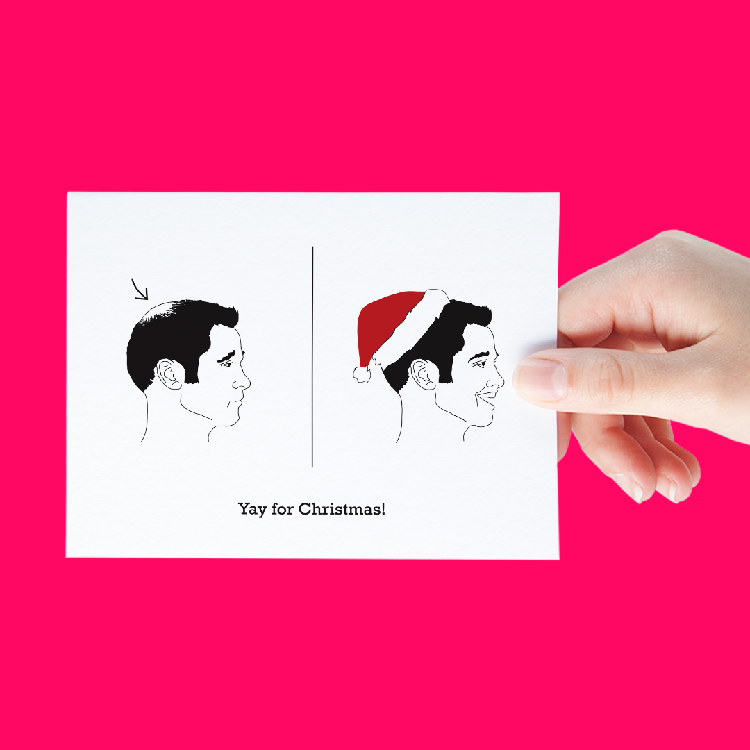 santa-hat-funny-holiday-card