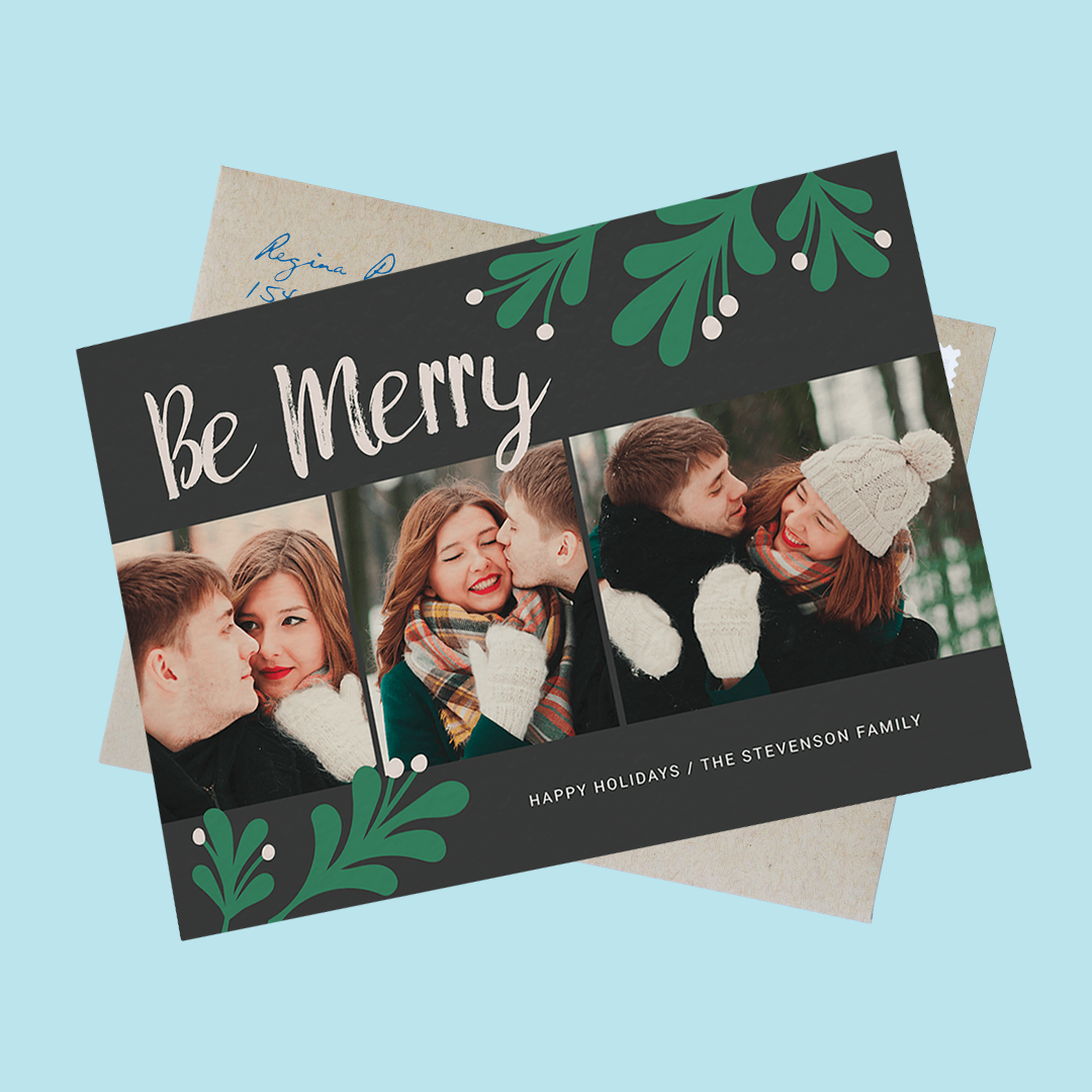 be-merry-christmas-photo-card