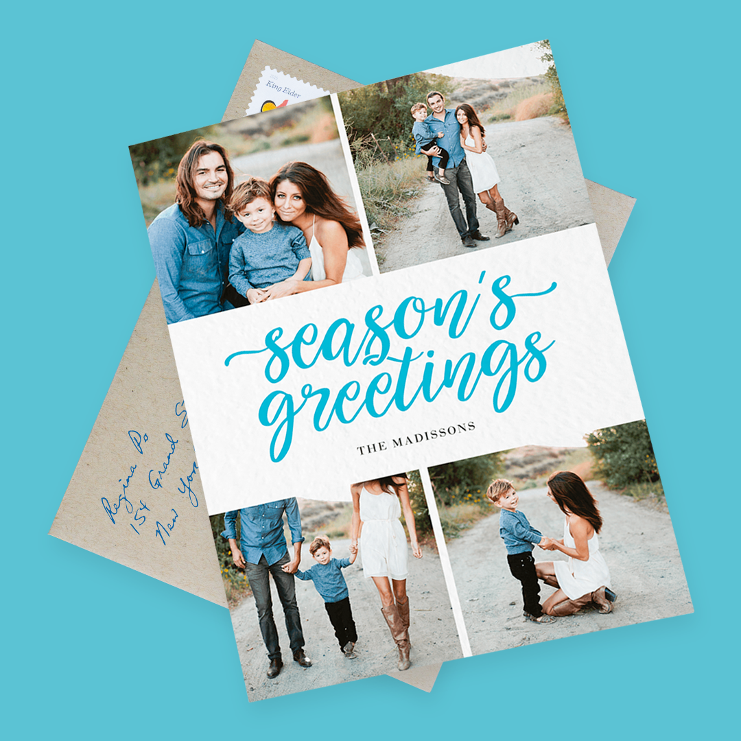 blue-seasons-greetings-photo-cards