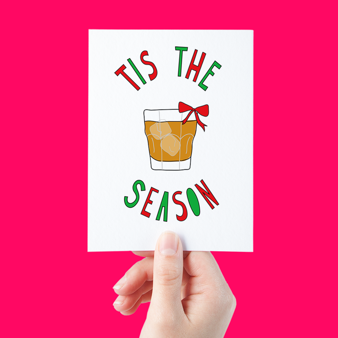 alcohol-holiday-card