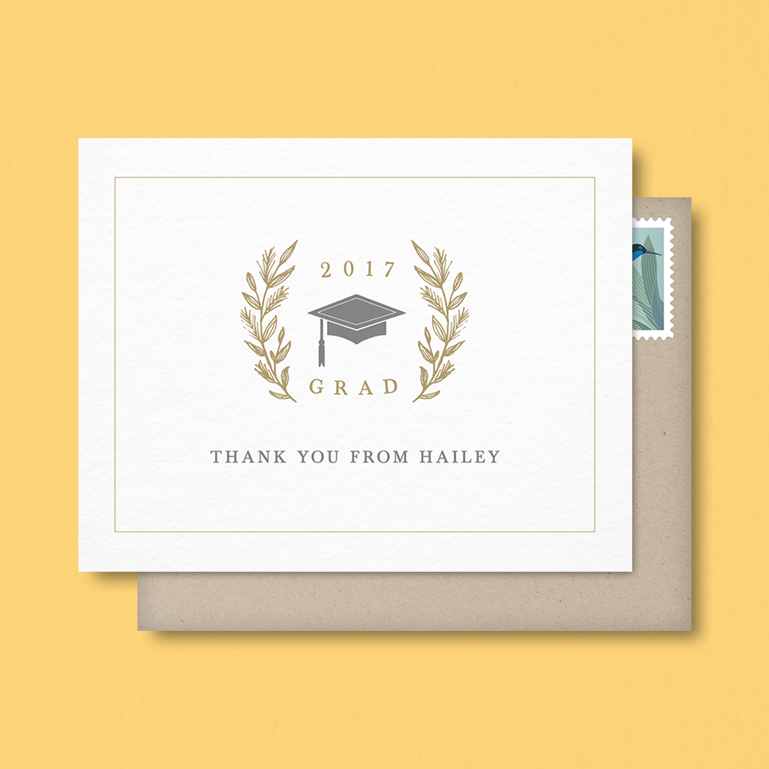 how to write a graduation thank you note How to write a thank you note you can fill even short thank you notes with appreciation, sincerity and meaning a handwritten note of thanks should be sent via mail.