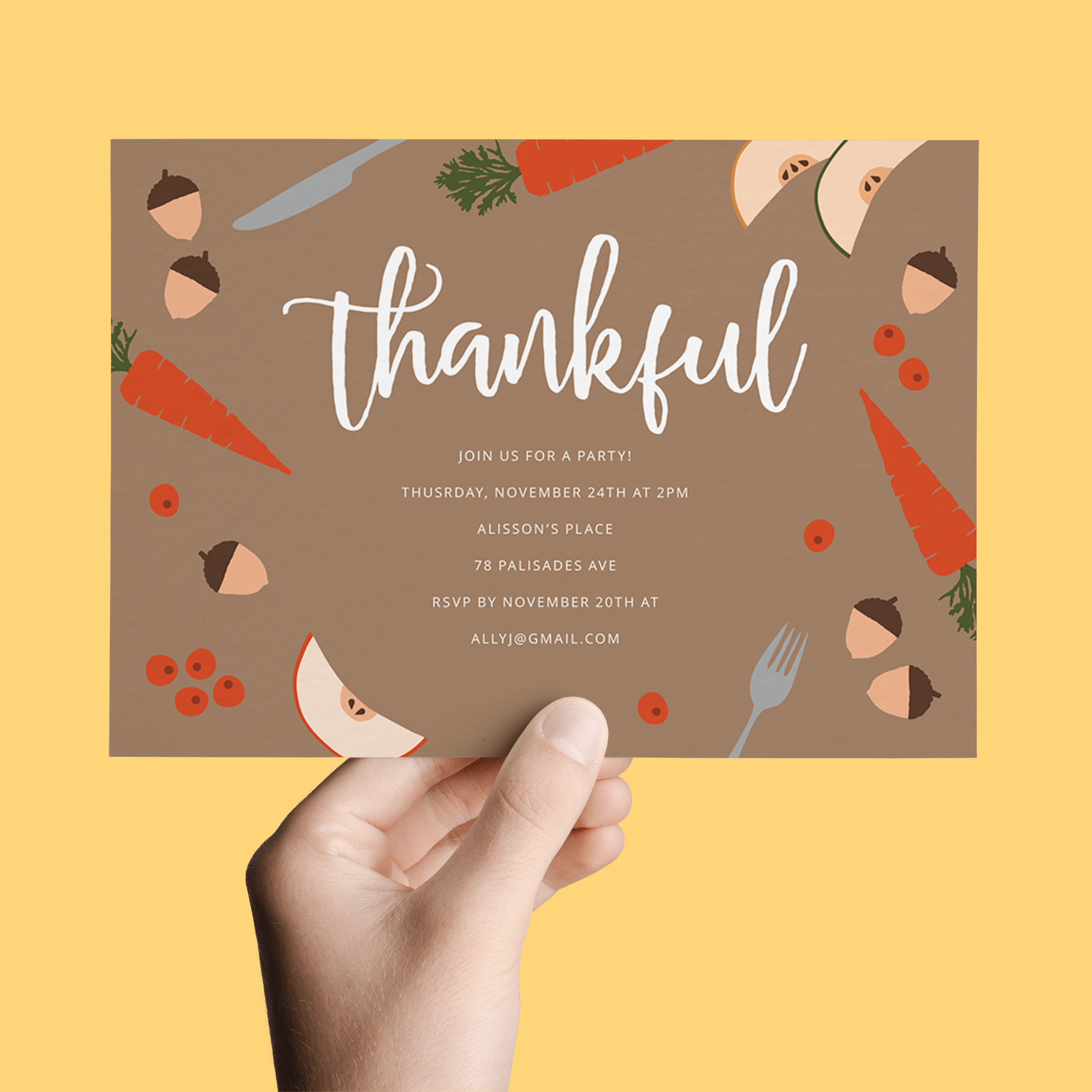 8 fall party invites thatll instantly make you want a pumpkin 1 kristyandbryce Gallery