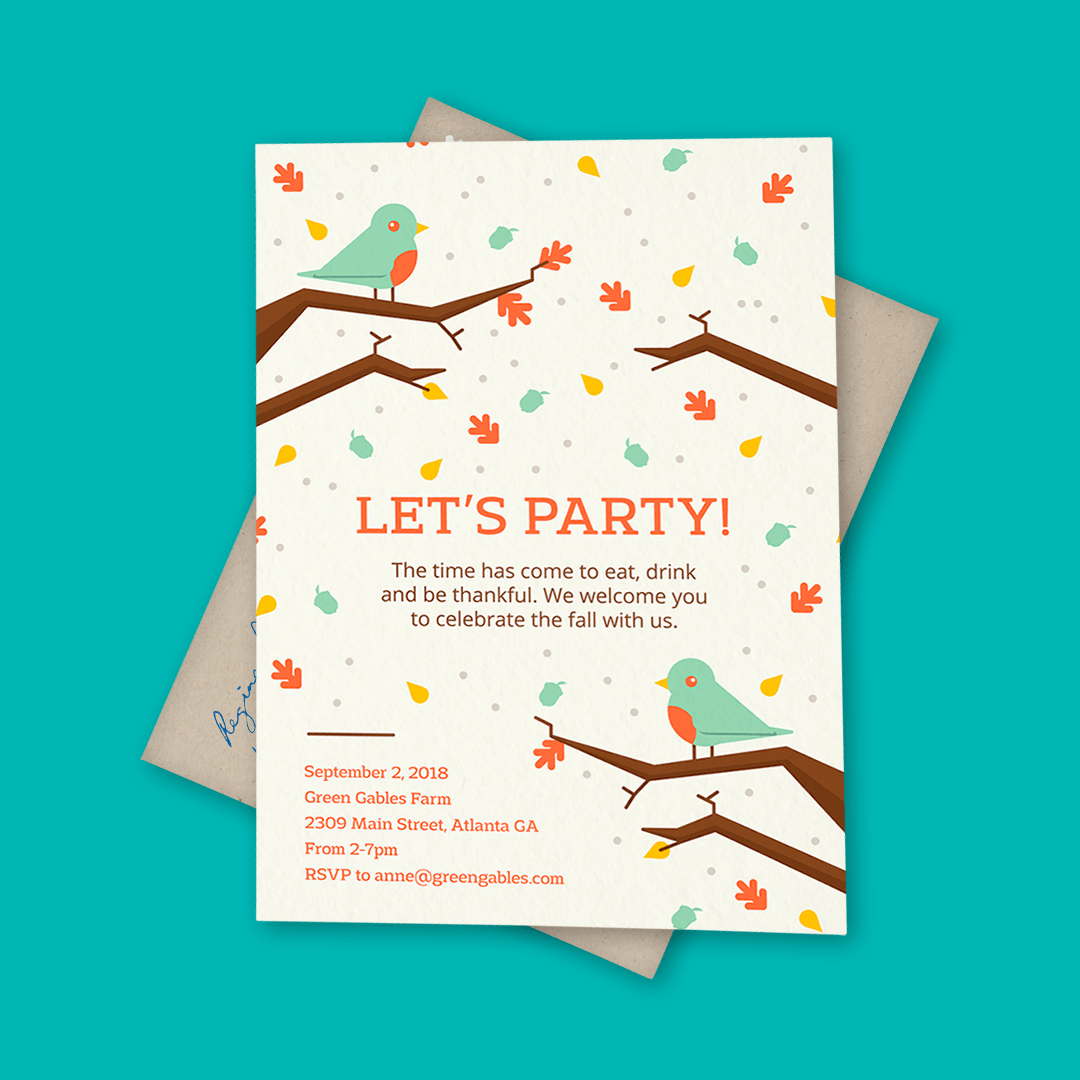 8 Fall Party Invites That\'ll Instantly Make You Want a Pumpkin ...