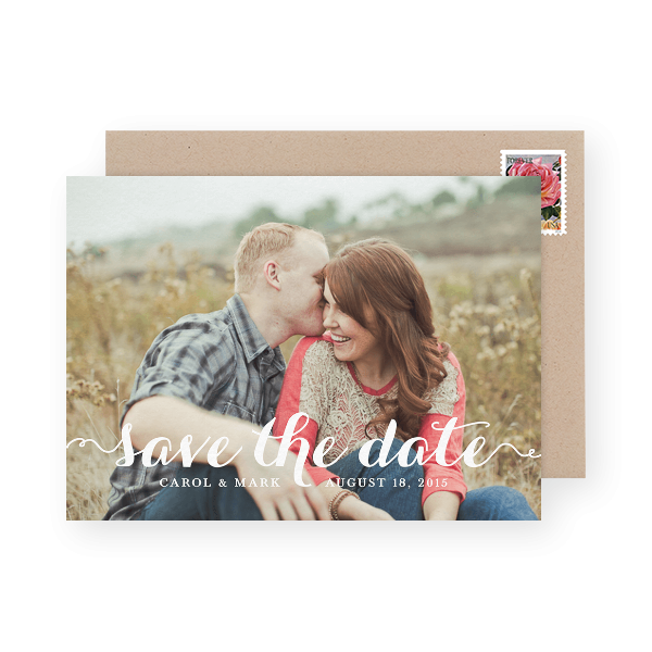 thick-calligraphy-save-the-date-with-photo