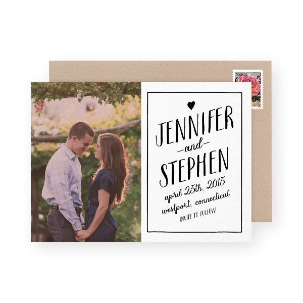 hand-lettered-save-the-date-with-photo