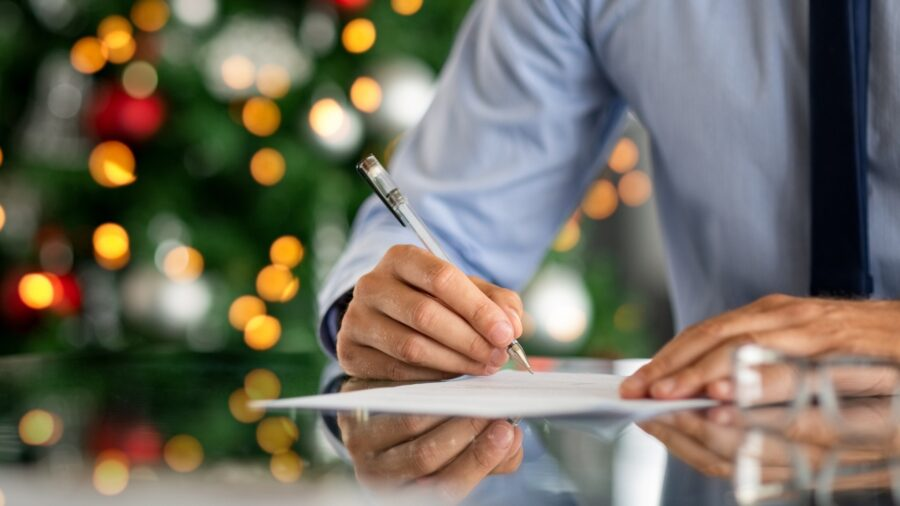 Business Holiday Card Message Tips Wording Examples