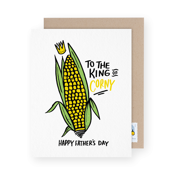 funny father's day card with a pun