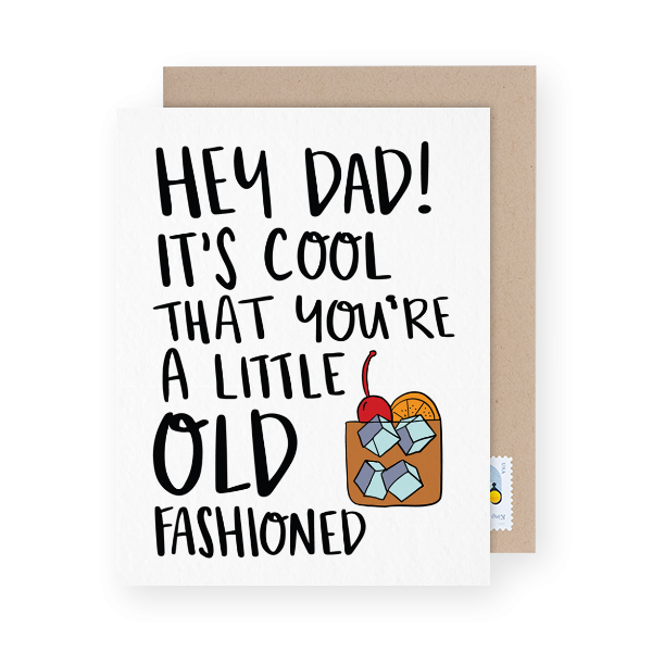 father's day card with a pun
