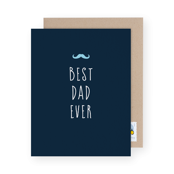 best dad ever father's day greeting