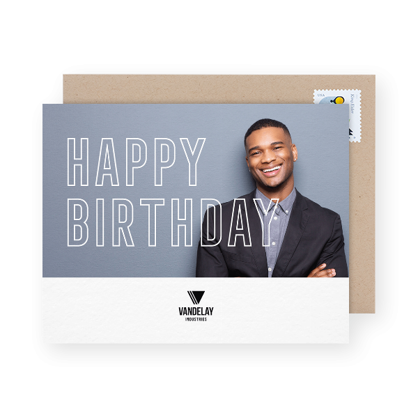 birthday cards for small business