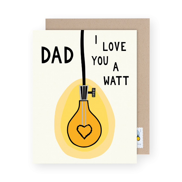 unique father's day card