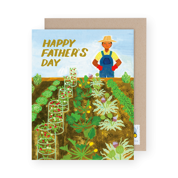 gardening father's day card