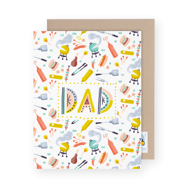 father's day card for dads who like to grill