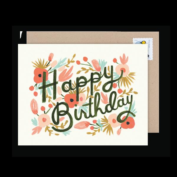 business birthday card